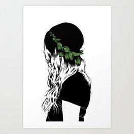 Basil Art Print