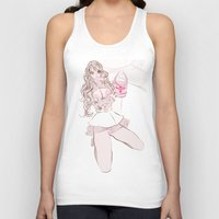 champagne Tank Tops featuring CAPRI CHAMPAGNE by Chandelina