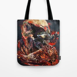 The Four Horsemen of the Apocalypse (Moon) Tote Bag