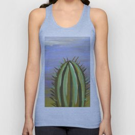 palm euphoric sunset sky Unisex Tank Top