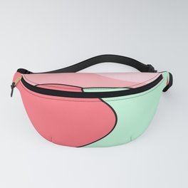 Happy Place - Coral Mint Fanny Pack