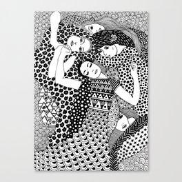 Gustav Klimt - The Virgin Canvas Print