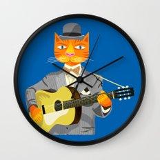 Tibbles Plays Acoustic Wall Clock