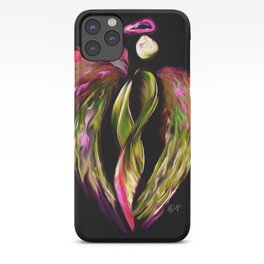 Angel - Pink & Gold iPhone Case