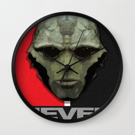 NEVER FORGET - Thane Krios - Mass Effect Wall Clock
