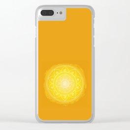 MANIPURA Boho mandala Clear iPhone Case