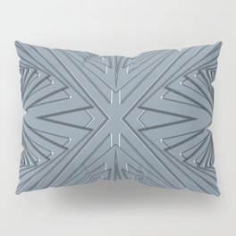 Grey patterns Pillow Sham