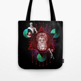 Geometric Gods Tote Bag