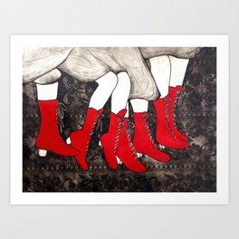 Polish Polka Art Print