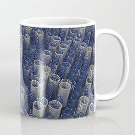 Glass and metal springs and coils Coffee Mug