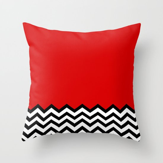 Black Lodge Dreams Twin Peaks Throw Pillow by Welcome To Twin