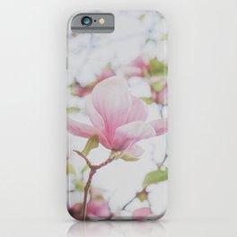Pink Magnolias iPhone Case