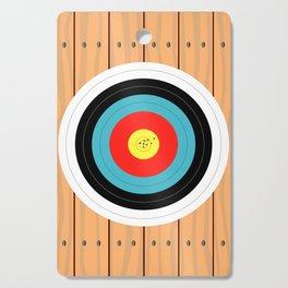 Shooting Target Cutting Board