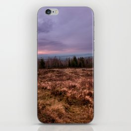 Sunset colours iPhone Skin