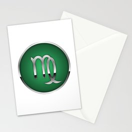 Zodiac Virgo Stationery Cards