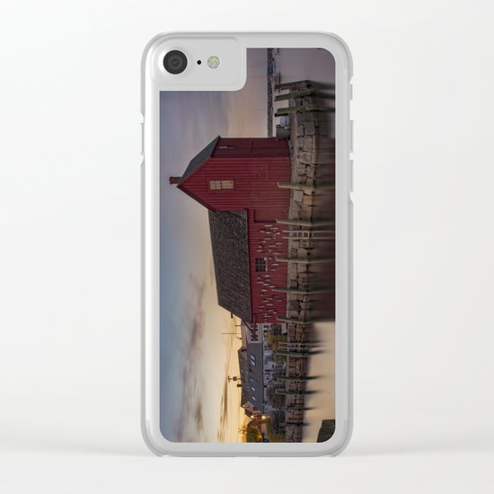 Motif #1 after sunset redo Clear iPhone Case