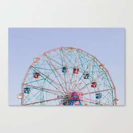 The Wonder Wheel Canvas Print