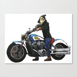 Horseman #4 Canvas Print