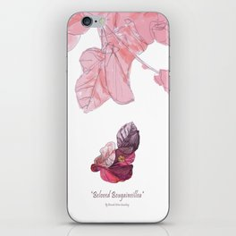 Beloved Bougainvillea iPhone Skin