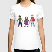 hermione T-shirts featuring Harry, Hermione, and Ron by Janna Morton