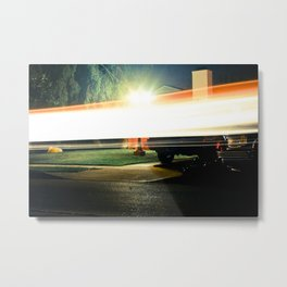 The Flash Metal Print