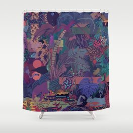 ZABA Shower Curtain