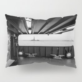Statue of Liberty from the Ferry Pillow Sham