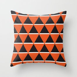 Blacks & whites Throw Pillow