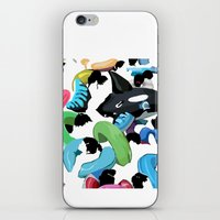 pool iPhone & iPod Skins featuring Pool by kiwiroom
