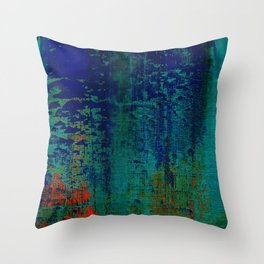 Simon Carter Painting Is This Innocence? Throw Pillow