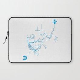 Subway - nyc vs istanbul Laptop Sleeve