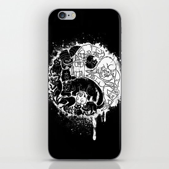 Pet Taoism iPhone & iPod Skin