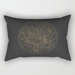 Visible Heavens - Dark Rectangular Pillow