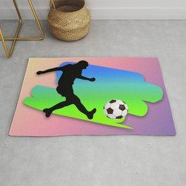 The Football game Rug