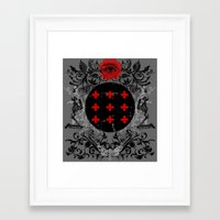 occult Framed Art Prints featuring Occult theme by Renars
