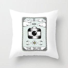 The Selfie Throw Pillow