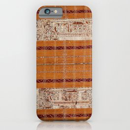 Tapis Lampong South Sumatra Indonesian Wrap for Woman Print iPhone Case