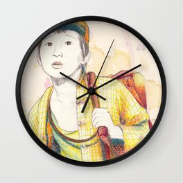 Short Round - Secondary character? Never! Wall Clock