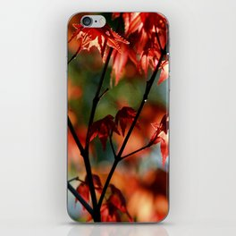 flora in flame iPhone Skin