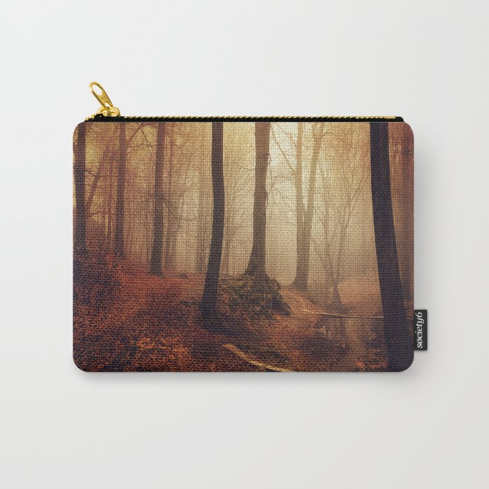 Forest Creek At Sunrise Carry-All Pouch