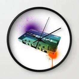 Tapes Wall Clock