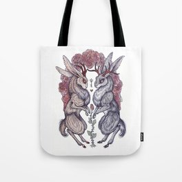 Rare Hearts Tote Bag