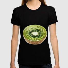 Kiwi Chinese gooseberry woody vines Actinidia diameter hairy T-shirt