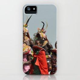 Samburu Morans iPhone Case