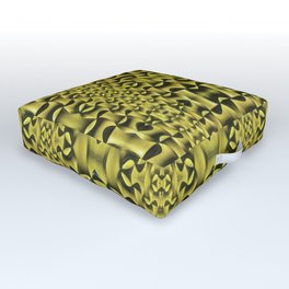 Yellow Haze Outdoor Floor Cushion