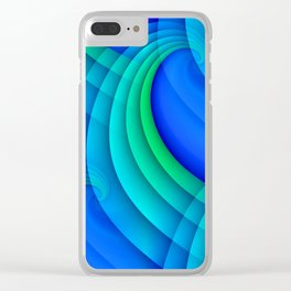 time for abstraction -20- Clear iPhone Case