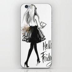 Hello Friday iPhone & iPod Skin