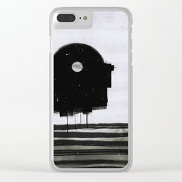 beach 2 (1959) Clear iPhone Case