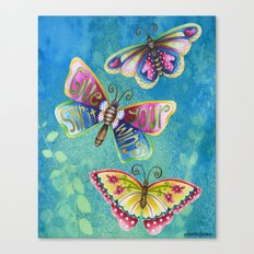 Give Your Spirit Wings  Canvas Print