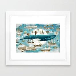 Ocean Meets Sky - book cover Framed Art Print